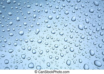Shiny Water Droplets