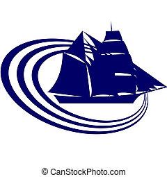 ship-2, segeln