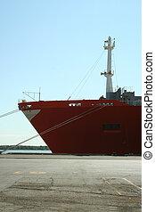 Ship at dock 1
