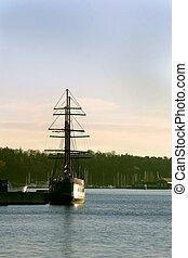 Ship at Dock