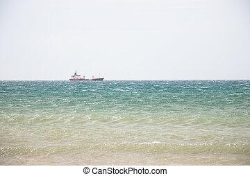 Ship at the ocean