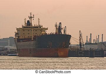 Ship at the quay