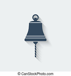 ship bell design element - vector illustration. eps 10