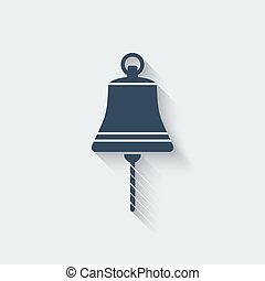 ship bell design element - vector illustration. eps 10