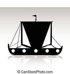 ship black