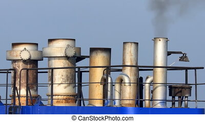 ship chimneys