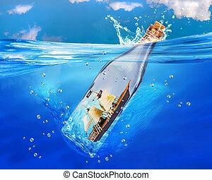 Ship in a Bottle.