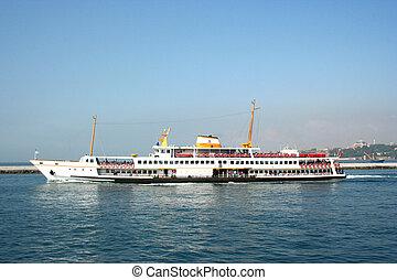Ship in istanbul