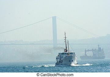 ship in Marmara Sea, ?stanbul