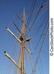 Ship Mast Detail