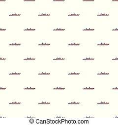 Ship military pattern seamless
