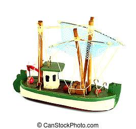 Ship model isolate