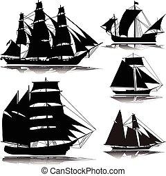 ship--vector, öreg