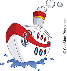 Ship - Cartoon ship