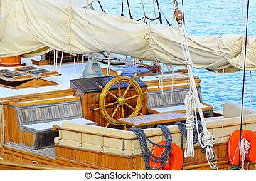 Ship wheel house