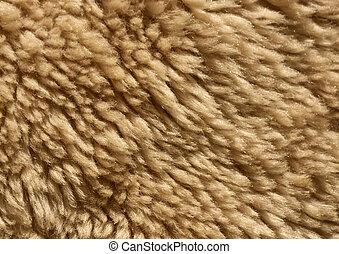 Ship wool texture.