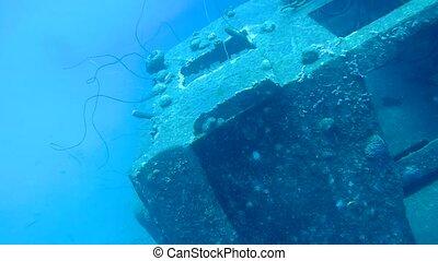 ship wreck Hilma Hooker Bonaire island caribbean sea...