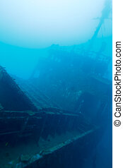 Ship wreck, Maldives