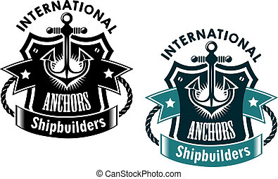 shipbuilders, international, marin, bannière