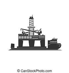 Shipment Of Oil Rig