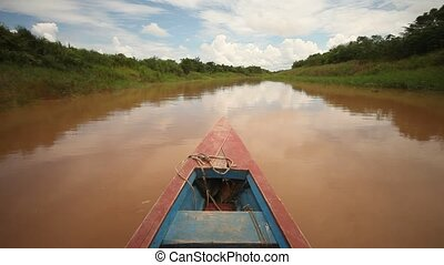 Shipping At Amazon River, Peru