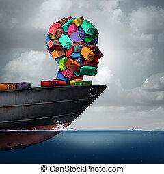Shipping Cargo Concept