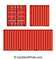 Shipping, cargo containers - Freight shipping, cargo...