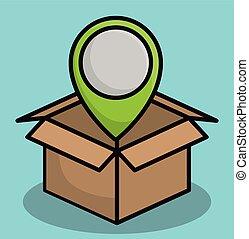 Shipping logistics design