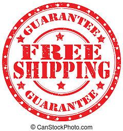 shipping-stamp, kosteloos