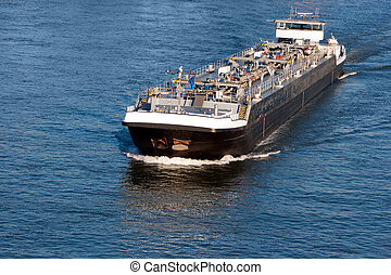 Shipping - Tanker barge