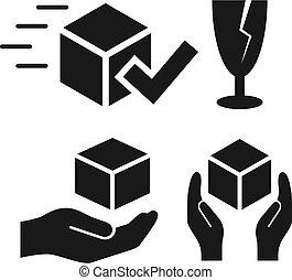 Shipping vector icon