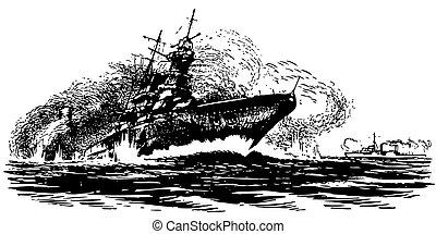 Ship's drowning