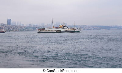 Ships herring shore - Ships fish for herring close to shore...
