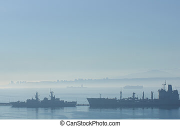 Ships in the Mist