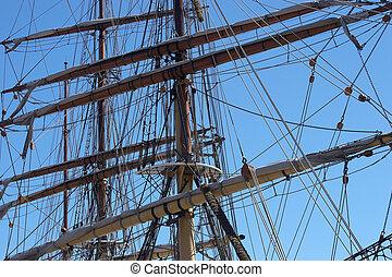 Ships Masts - Sailing ships masts