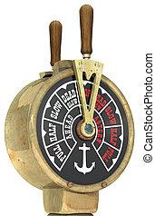 ship's, telégrafo