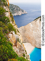 Shipwreck Bay,Navagio Beach,  Zakynthos, Greece