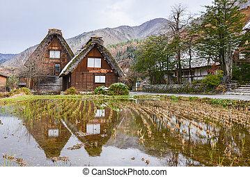 Traditional Japanese House - Shirakawago Gassho Zukuri...