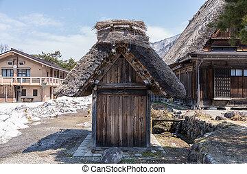 shirakawago, historique,  village