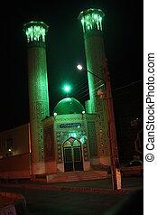 shiraz, meczet, noc