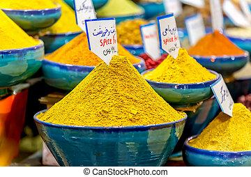 shiraz, vakil, bazar, temperos