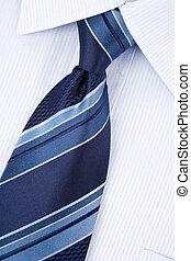 Shirt and Necktie close up shot