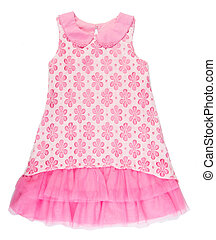 "shirt. baby dress isolated ""baby girl dress"" ."