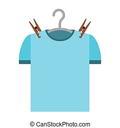 shirt clean isolated icon