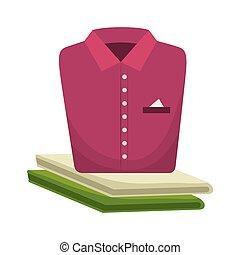 shirt folded laundry