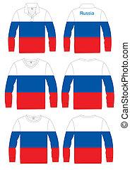 Shirt Long-sleeved Flag Russia