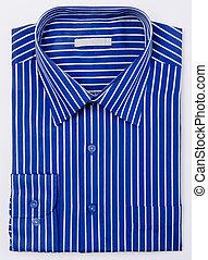 shirt., mens, camisa, ligado, um, fundo
