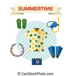 shirt., tourisme voyage, voyage, icônes