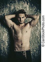 shirtless sexy guy