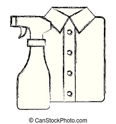 shirts and clothes laundry service